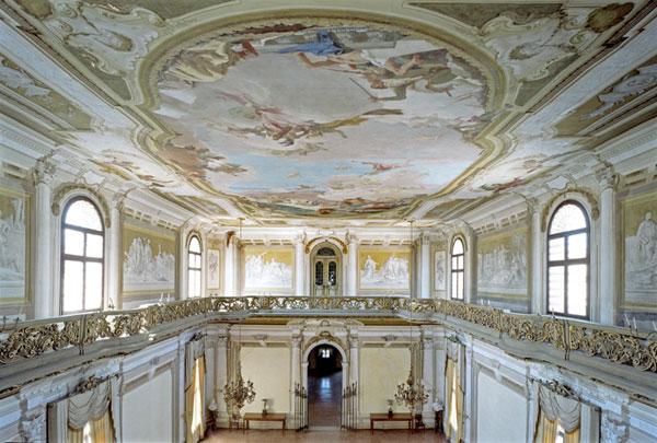 Galleria fotografica villa pisani museo nazionale la for Interno ville foto